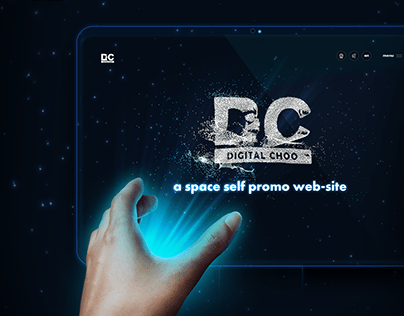 Corporate website of marketing agency DigitalChoo
