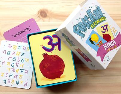 Flash Cards - Hindi Alphabet