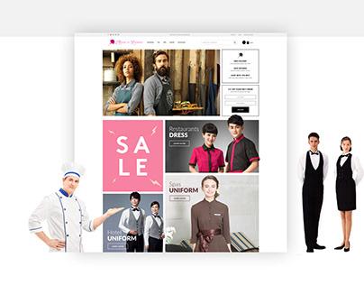 Maids in fashion - web design