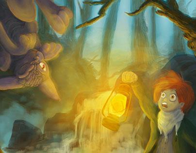 Dark Tales Illustration