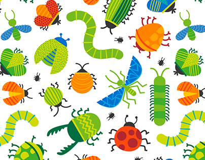 Kids Vector Patterns 1