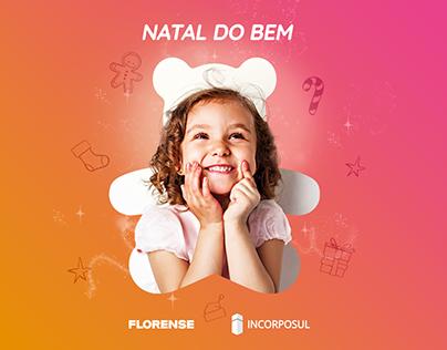 Campanha Natal do Bem - Florense e Incorposul