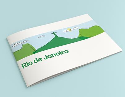 Rio De Janeiro - Editorial work - vector illustrations