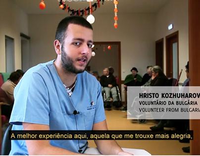 Video European volunteers