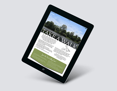 Interactive Tablet Magazine - Student Project