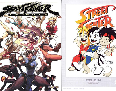 STREET FIGHTER TRIBUTE (Udon, 2008)