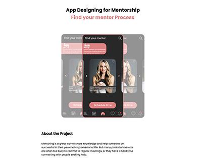 Mentorsclass Application. Find your mentor