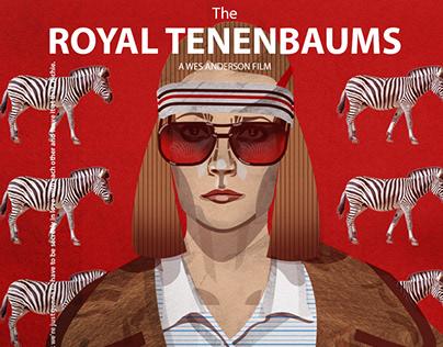 The Royal Tenenbaums. Alternative poster