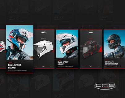 CMS — High Performing Helmets Website