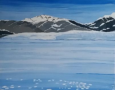 Glacier, Alaska, Usa.