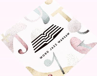 WORD JAZZ WARSAW visual identity