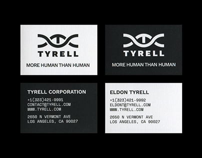 TYRELL CORPORATION – Identity