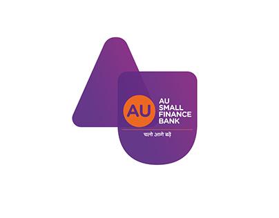 AU Small Finance Bank campaign.