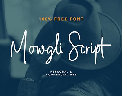 Mowgli Script - 100% FREE FONT