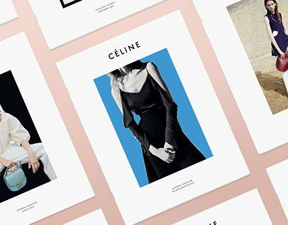 Celine - Internal magazine