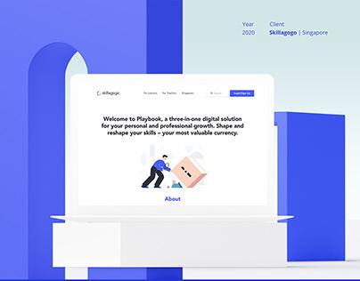 Skillagogo Homepage Website