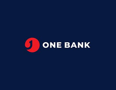 One Bank Logo Redesign