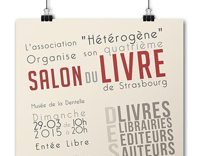 Affiche Salon du Livre