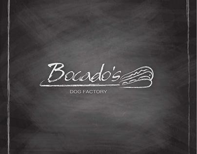 Logo/Diseño Menú/Fotografía Gastronómica de Bocados DF
