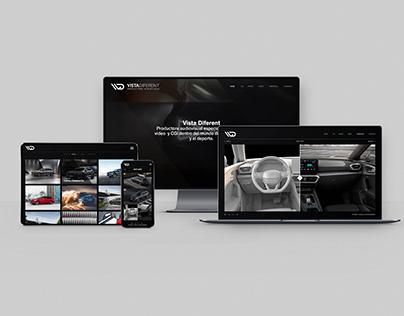 Vista Diferent | Web design