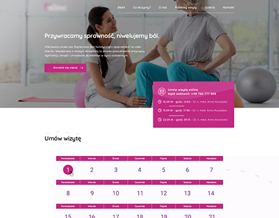 Clinic Physiotherapy - Web Project