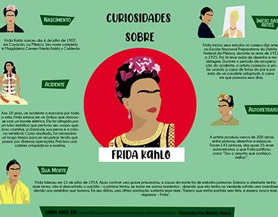 Infograpic Frida Kahlo