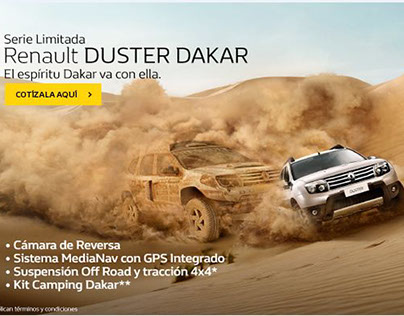 Renault Duster Limited Series DAKAR