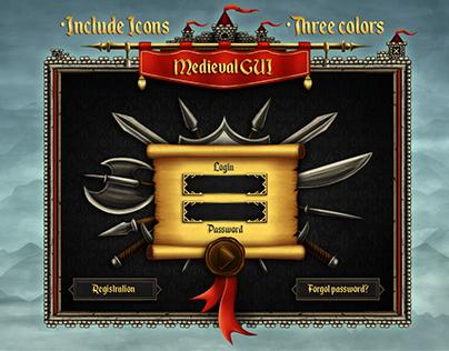 Medieval GUI