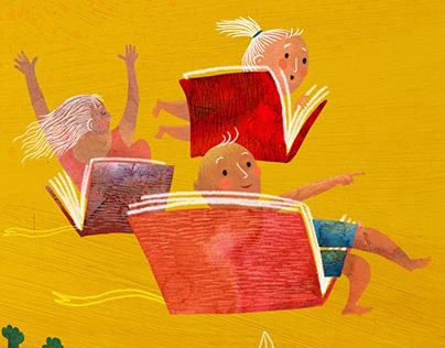 Flying summer readers/Poletavci