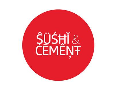Sushi & Cement Branding