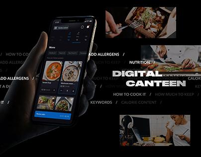 Digital Canteen — multiplatform ecosystem