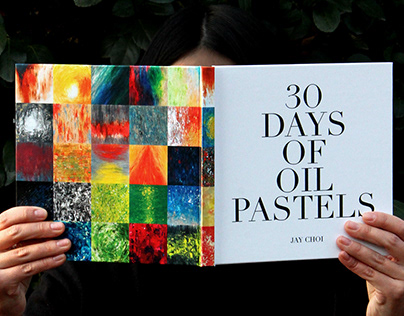 30 DAYS OF OIL PASTELS
