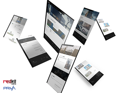 Priva Group Web Site Design