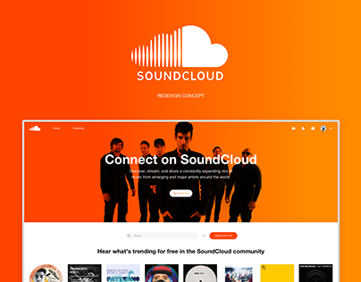 Soundcloud Redesign Concept