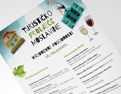 Visual identity for Moslavina tourist spring