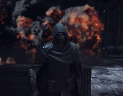 Cinematic trailer of the mobile game Mercenary