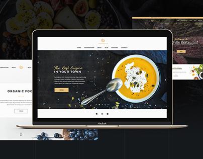 Steakville - Restaurant PSD Template (Free Download)