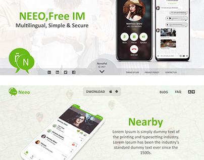 Neeo Messanger Option 01