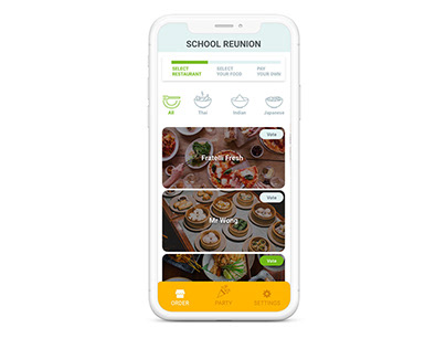 Divvy - Collaborative Food Ordering