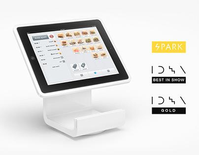 Square Stand Register