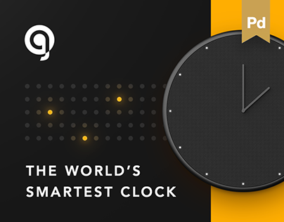 Glance Clock — First Smart Clock
