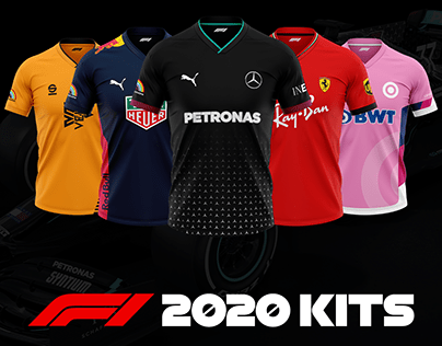 2020 Formula 1 Football Kits