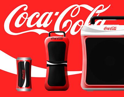 Coca-Cola Bluetooth Speaker Set
