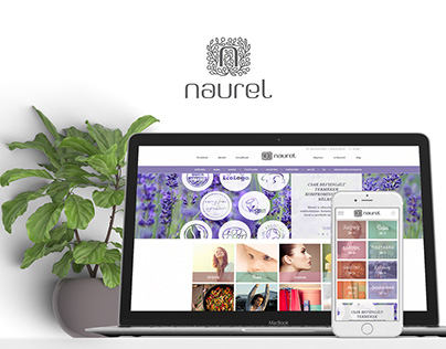 Naurel Logo, Branding and E-commerce website