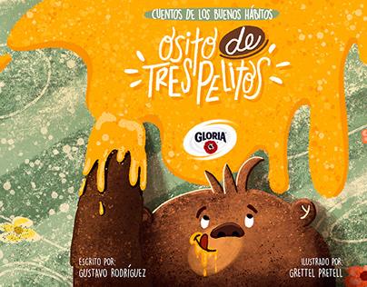 Children Illustration Book - Gloria Company