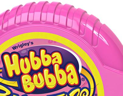 3D Hubba Bubba Bubble Tape