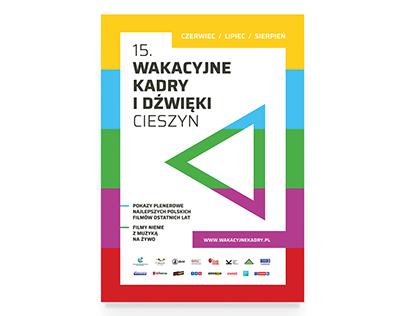 """Identyfikacja festiwalu """"Wakacyjne kadry i dźwięki"""""""