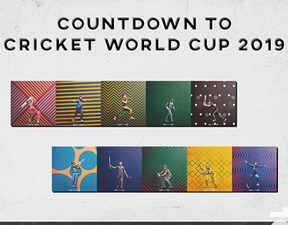 Countdown To Cricket World Cup '19 | Posters & Motion |