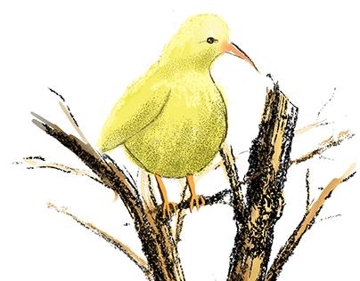 My Fat Yellow Bird