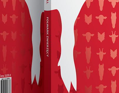 """Book cover for """"Folwark Zwierzęcy"""""""